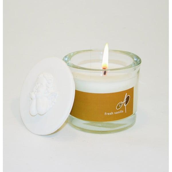 Aromatyczna świeczka THD Fragnances, wanilia