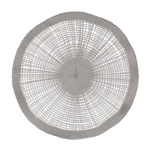 Szara serwetka na stół Côté Table Soleil Grey, 38 cm