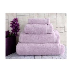 Fioletowy ręcznik Irya Home Superior, 30x50 cm