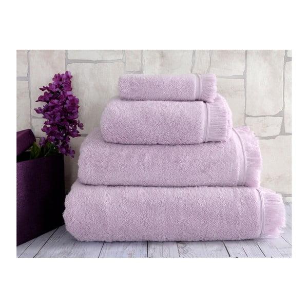 Fioletowy ręcznik Irya Home Superior, 70x130 cm