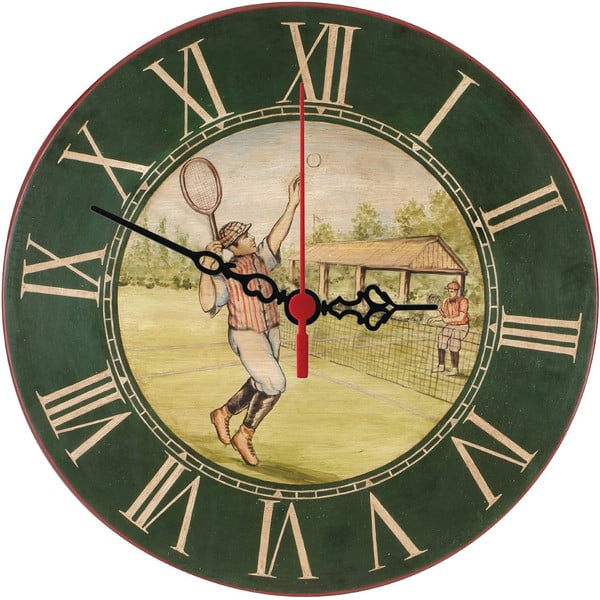 Zegar ścienny Vintage Tennis, 30 cm