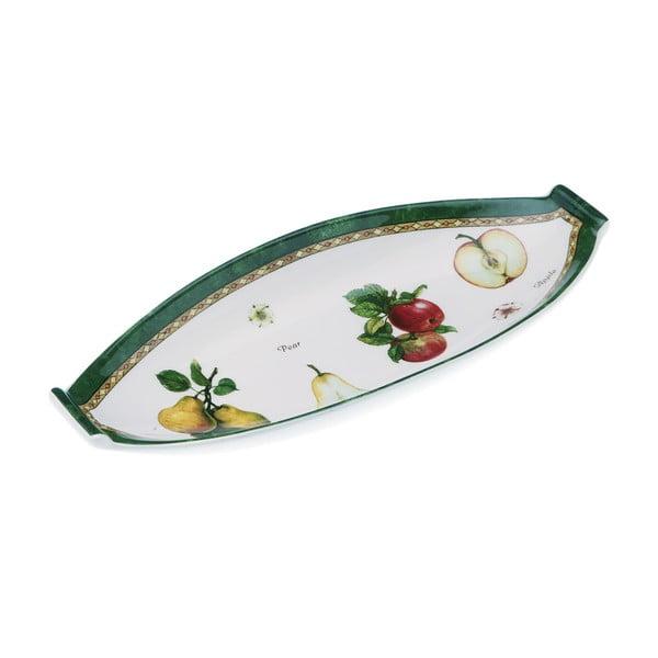 Owalny   talerz do serwowania Fruits