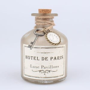 Butelka dekoracyjna z korkiem Dakls