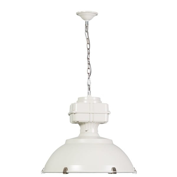 Biała lampa wisząca ETH Manduria