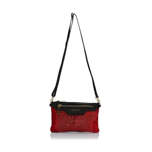 Skórzana torebka Markese 144 Red
