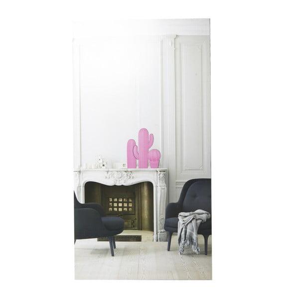 Biały kaktus dekoracyjny YWL Boule