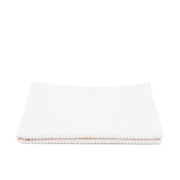Komplet 2 białych ręczników frote Casa Di Bassi Stripe, 70x140 cm