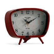 Czerwony zegar stołowy Geese Old