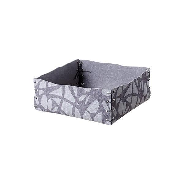 Filcowe pudełko, 12x6 cm, szare