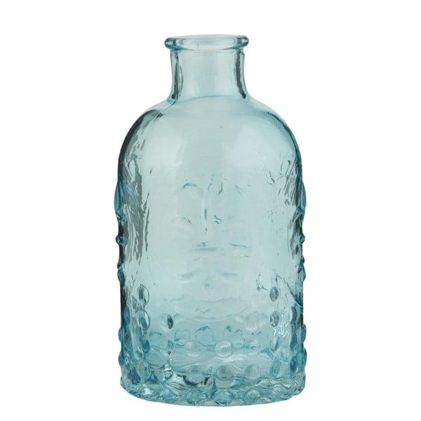 Szklana butelka Clayre, turkusowa