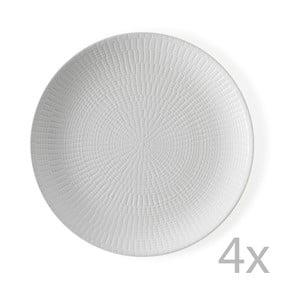 Zestaw   4 talerzy Granaglie Blanc, 27 cm