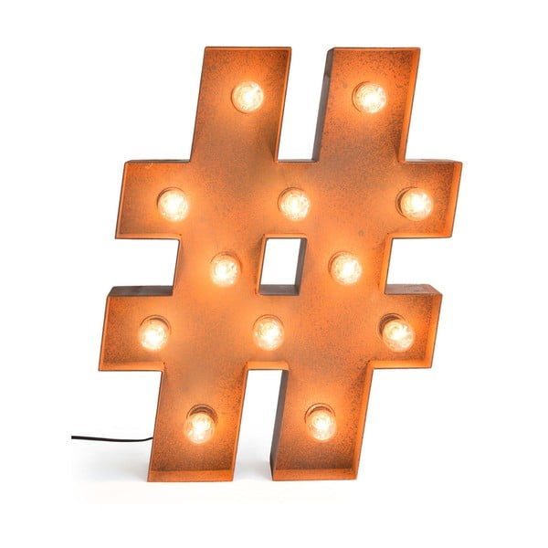 Oświetlenie dekoracyjne Really Nice Things Hashtag