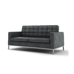 Szara   sofa dwuosobowa Wintech Eagle Soft