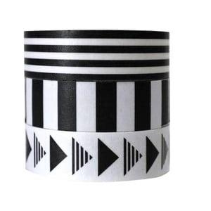 Zestaw   3 dekoracyjnych taśm klejących Alice Scott by Portico Designs