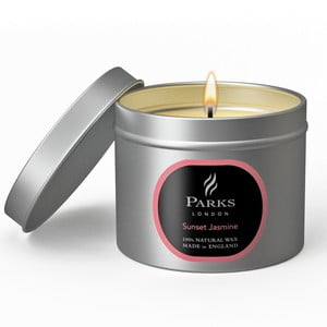 Świeczka Parks London, 25 godzin palenia, zapach jaśminu
