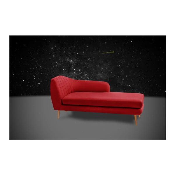Szezlong prawostronny Comete Red