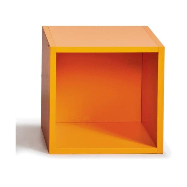 Półeczka (do biblioteczki), pomarańczowa