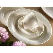 Komplet 6 filiżanek porcelanowych ze spodkami Kutahya Elegancja