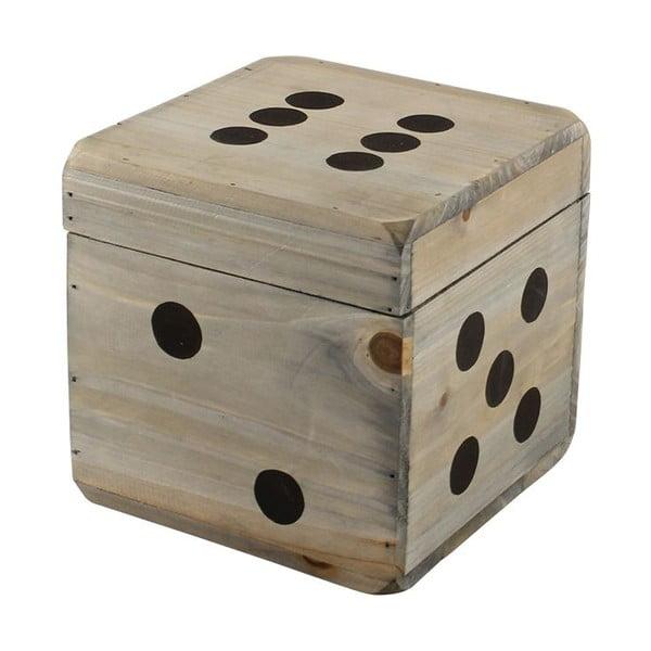 Komplet 3 drewnianych pudełek Play
