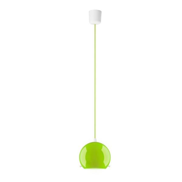 Zielona błyszcząca lampa wisząca Sotto Luce MYOO