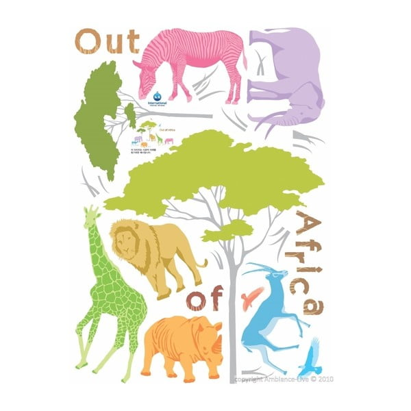 Naklejka African Animals