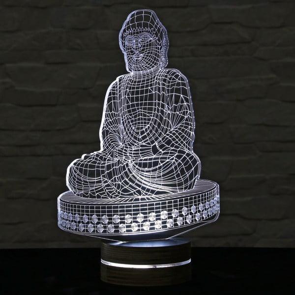 Lampa 3D stołowa Budha