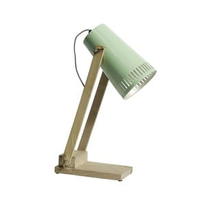 Zielona lampka stołowa Nordal Retro