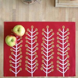 Komplet 2 mat stołowych Herbs, 45x35 cm