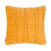 Żółta poduszka ZicZac Glister, 45x45 cm