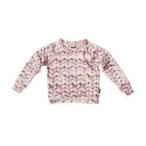 Różowa bluza dziewczęca Snurk Twirre, 140