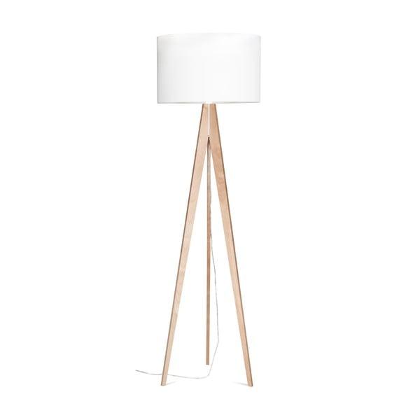 Lampa stojąca Artist White/Birch, 150x42 cm