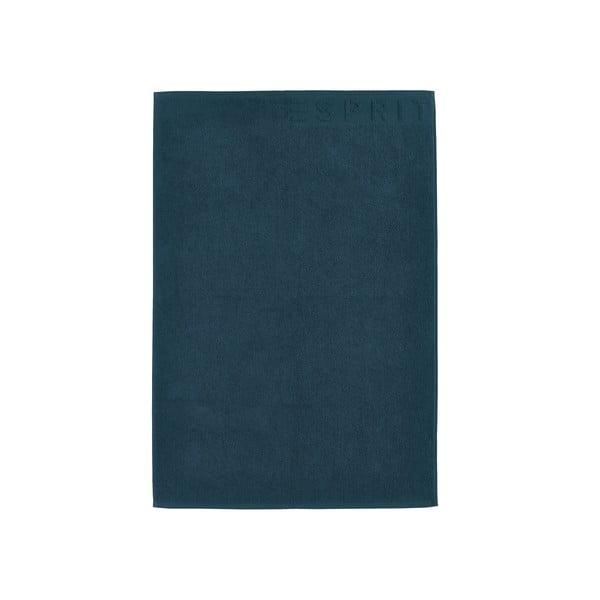 Dywanik łazienkowy Esprit Solid 60x90 cm, jeansowo- niebieski