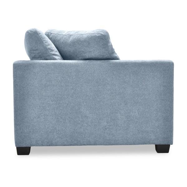 Jasnoszara sofa 3-osobowa Vivonita Hugo