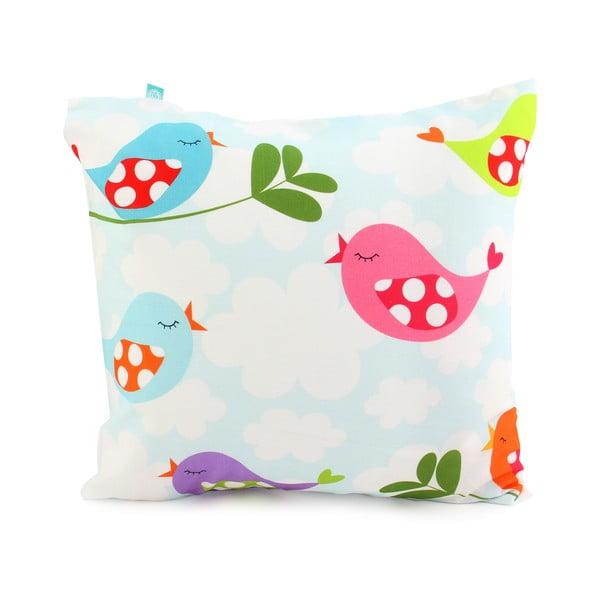 Dziecięca pościel bawełniana z poszewką na poduszkę Mr. Fox Little Birds, 140x200 cm