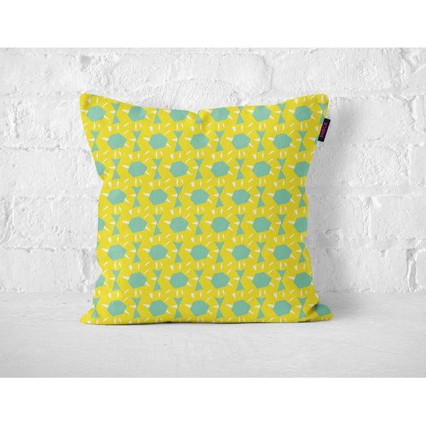 Poduszka Yellow Floralis, 40x40 cm