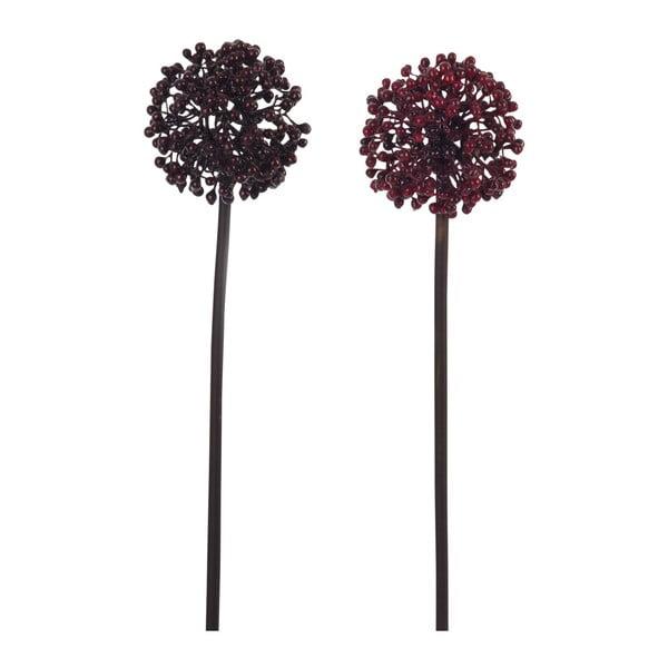 Zestaw 2 sztucznych kwiatów