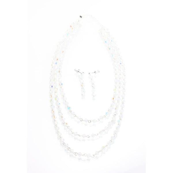 Zestaw Bijoux Crystals AB