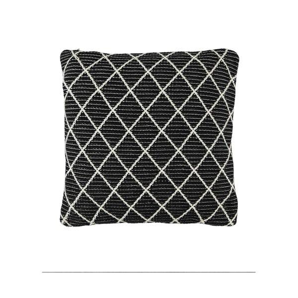 Czarna poduszka Marc O'Polo Delor, 50x50 cm