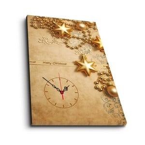 Obraz z zegarem Christmas no. 2, 45x70 cm