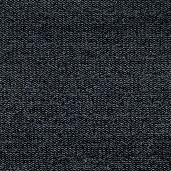 Ciemnoszare łóżko z naturalnymi nóżkami Vivonita Allon, 160x200 cm