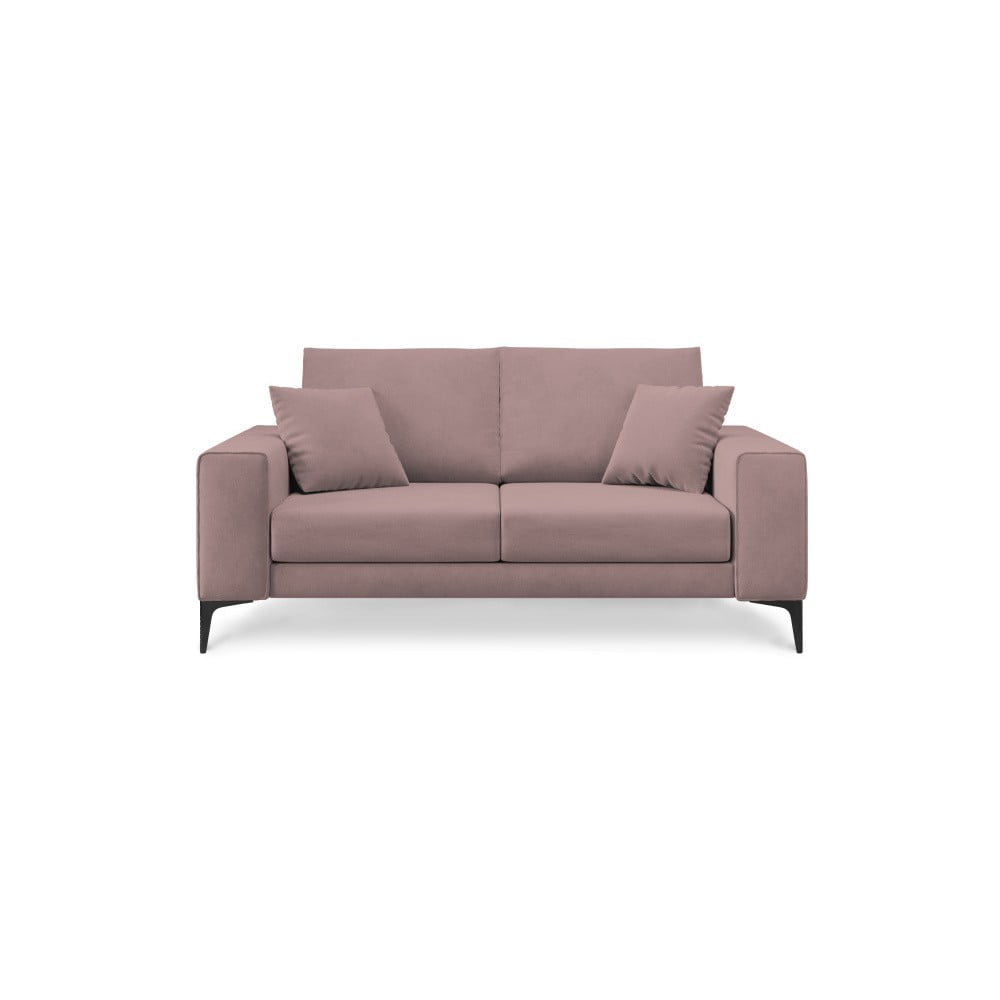 Jasnoróżowa sofa 2-osobowa Cosmopolitan Design Lugano