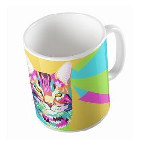 Ceramiczny kubek Butter Kings Pop Art Cat, 330 ml