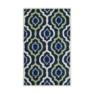 Dywan ręcznie wyszywany Mykonos, 91x152 cm