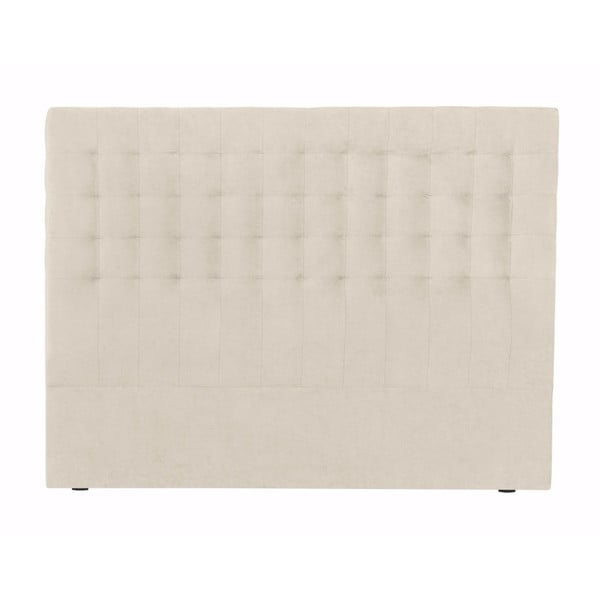 Kremowy zagłówek łóżka Windsor & Co Sofas Nova, 180x120 cm