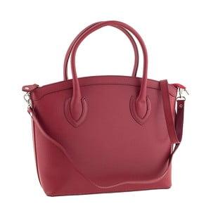 Skórzana torebka Ninety Red