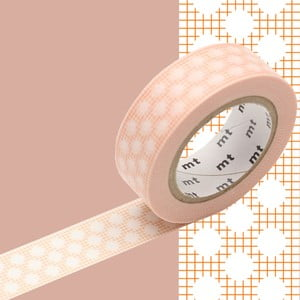 Taśma dekoracyjna washi MT Masking Tape Priscilla, dł.10m
