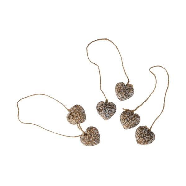 Dekoracja wisząca Antic Line Hearts Ornament