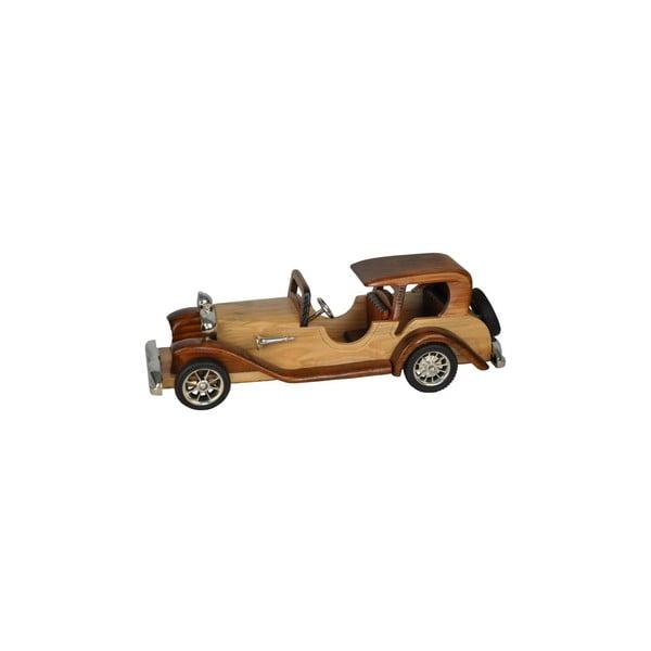 Drewniana dekoracja Car