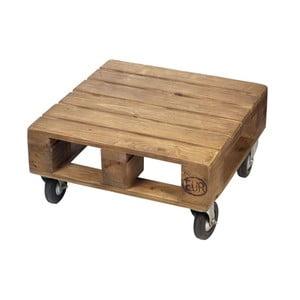 Stolik na kółkach Wood Pallet