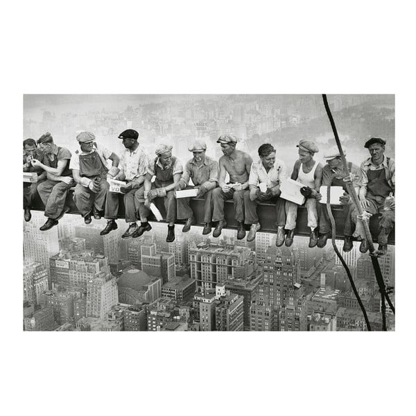 Foto-obraz Men in New York, 81x51 cm